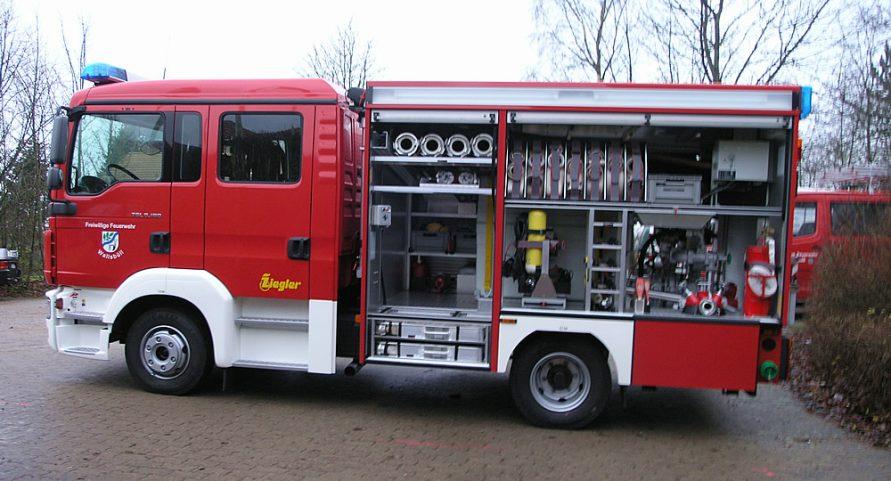 Feuerwehrfahrzeug StLF 10/6
