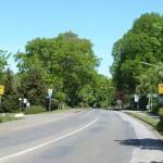 Ortseingang von der B199