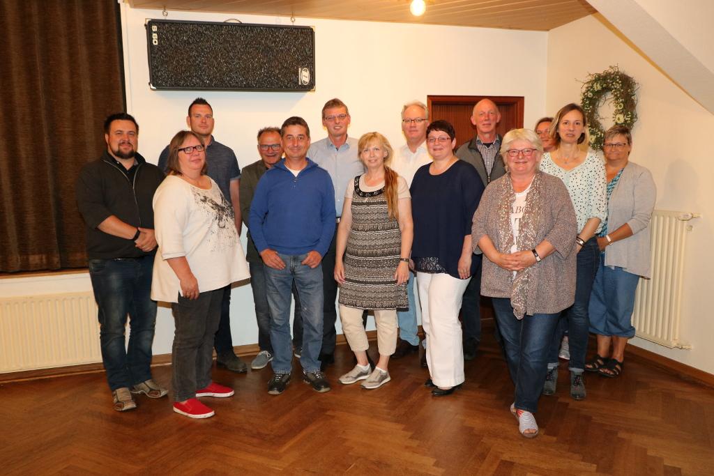 Der Gemeinderat Wallsbüll 2018