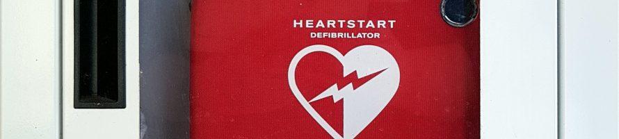 Einweisung Defibrilator