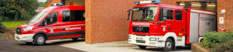 Einladung zur Übergabe des neuen Feuerwehrfahrzeuges und der Fahrzeughalle