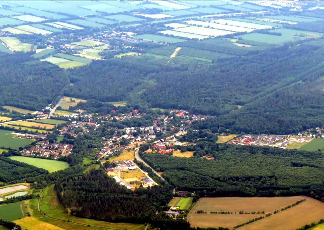 Luftbild Wallsbüll