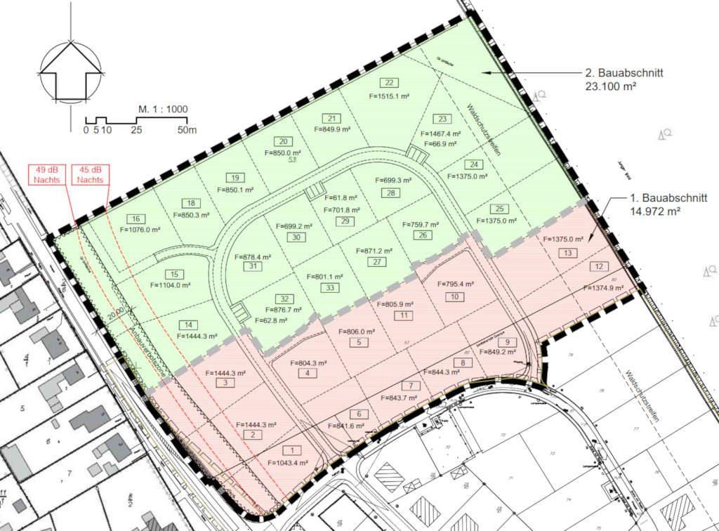 Wallsbüll Bebauungsplan 4 komplette Erweiterung